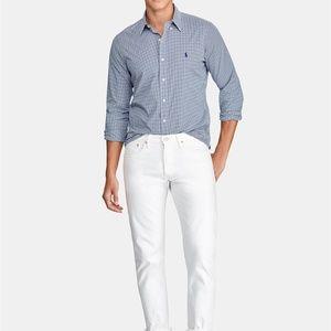 Polo Ralph Lauren Slim Fit Gingham Dress Shirt